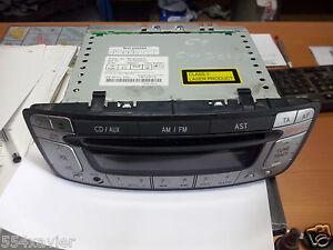 Toyota Aygo Citroen C1 Peugeot 107 CD Autoradio Radio 86120-0H010 W53811