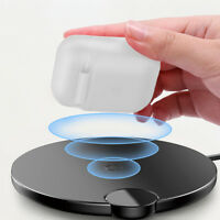 Wireless Qi Charging Charger Case Cover for AirPods Bluetooth Headphone RS