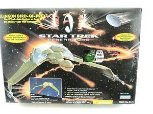 1994 Paramount Playmates Star Trek Generations Klingon Bird Of Prey Model 6174