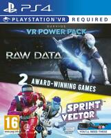 Raw Data / Sprint Vector - Sony Playstation 4 [PS4 PSVR Action Collection] NEW