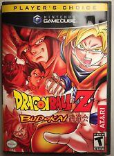 Dragonball Z: Budokai 2 - Nintendo GameCube/Wii CIB Free Shipping! Very Good!