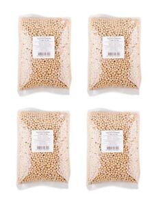 Bigpack: 4 x 1kg Getrocknete Sojabohnen Soja Bohnen Soy Bean zum Tofu machen