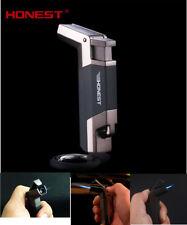 Honest Windproof Jet Torch Flame Cigarette Lighter Butane Gas Fuel Cigar Elbow