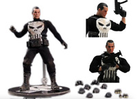 Mezco Marvel One:12 Collective The Punisher Action Figure Model Toy NewYear Gift