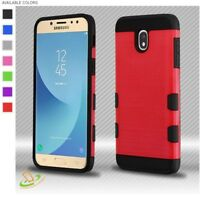 For Samsung GALAXY J7 2018 Phone Case Armor Hybrid Shock proof Rubber Slim Cover