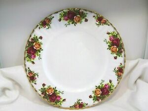 Royal Albert Old Country Roses 1st England c.1962-1973 Bone China Dinner Plate