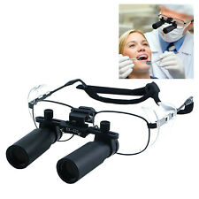 60x Magnification Dental Loupes Surgical Medical Binocular 45mm Field Of View