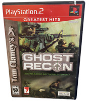 Ghost Recon Battlefield PlayStation 2 Game PS2 Complete W Manual