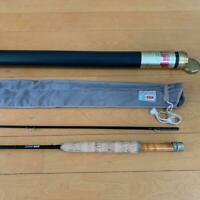 "Caps CFF Right Staff 8'10"" #4 Line 2piece Fly Rod Fishing Good Condition F/S"