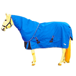 Rhinegold Storm 200g Turnout Rug with Detachable Neck - 1200D outer Fabric