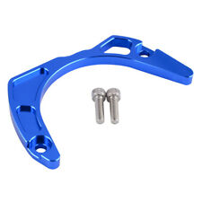 For Yamaha Raptor 700 700R Case Saver Chain Guard Cover Protect Guide Bule CNC