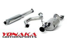 Yonaka Acura Integra 94-01 Gs Ls Rs Gs-R Itr Catback Exhaust Quiet Muffler 2Dr (Fits: Acura Integra)