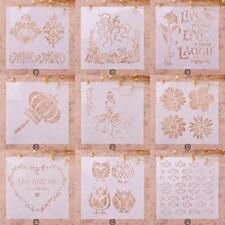 Painting Stencil Kids Chrildren Gift DIY Craft Album Xmas Decor Plastic