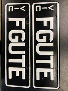 Ford FG FPV XR6 XR8 Turbo Ute Falcon Custom Number Plates