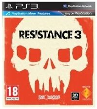 Resistance 3 (Sony PlayStation 3, 2011) NEW & SEALED.