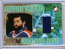 GRANT FUHR 05/06 ITG BTP Game-Used Edmonton Oilers Jersey GOLD #/20 Hockey Card