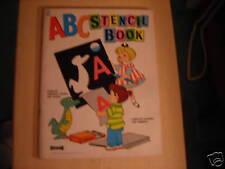 Vintage Saalfield ABC STENCIL Book 1963