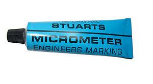 TUBE STUARTS MICROMETER ENGINEERS MARKING BLUE RDGTOOLS MYFORD