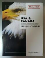 USA & CANADA 2020 Trafalger Vacation Brochure NEW 119 pages