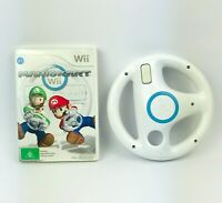 Mario Kart Wii with Nintendo Wii Steering Wheel