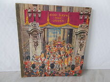 """God save the Queen : a """"Look Through"""" picture Book - Published by Raphael Tuck &"""