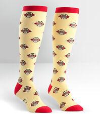 Sock It To Me Women's Funky Knee High Socks - Monkeys