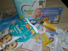Baby Proben Paket mit 14 Teilen / Pampers Gr. 1 *Windeltorte*