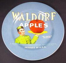 "Sakura for Oneida Vintage Labels Salad plate Waldorf Brand Apples 8.25"""