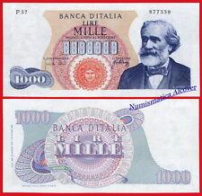 ITALIA ITALY 1000 liras lire 1962 1968  Pick 96d SC /  GEM UNC