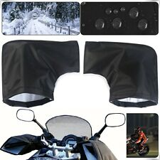 Thermal Waterproof Motorcycle Grip HandleBar Muffs Hand Protector Mitts Gloves