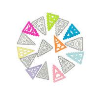 Stanzschablone Dreieck Hochzeit Weihnachts Oster Geburstag Karte Album Einladung