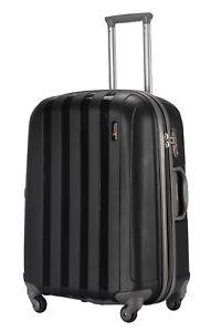 """Luggage X 77 cm (30"""") Suitcase Extra Large Lightweight Hard Sided Black"""