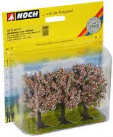 Noch HO- 25112, Classic Obstbäume, rosa blühend, GMK World of Modelleisenbahn,