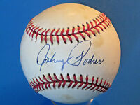 JOHNNY PODRES SIGNED RON BASEBALL ~ Toning On All Panels ~ BROOKLYN DODGERS