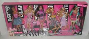 NEW 210 Barbie Fastionistas Swappin' Styles 6 Pack Ultimate Gift Set