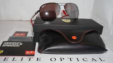 RAY-BAN Limited Sunglasses SCUDERIA FERRARI IT GP17 LTD RB3460M F015H2 #129/150
