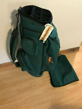 Datrek Kelloggs Tony The Tiger Embroidered 7 Divider Cart Golf Bag Green New
