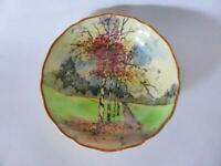 "Antique Royal Doulton ""Autumn Glory"" Bowl, 1920's Hand Painted China Seriesware"