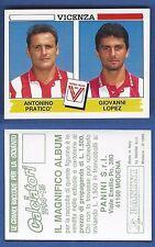 FIGURINA CALCIATORI PANINI 1994/95 - NUOVO/NEW N.546 PRATICO'/.. - VICENZA