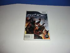 Nintendo Wii GI Joe The Rise of Cobra 2009 Tested Works Complete FREE S/H