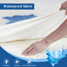Waterproof Mattress Protector Breathable Comfortable Twin Xl Size Deep Cover Pad