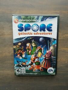New & Factory Sealed Spore Galactic Adventures EA (Windows/Mac, 2009) (D2-2)