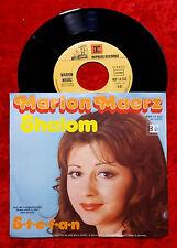 Single Marion Maerz: Shalom (Reprise 14 253) D 1973
