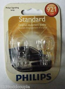Turn Signal Light Bulb-Standard - Twin Blister Pack 921 PHILIPS 921B2 #109