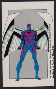 1991 RPG Marvel X-Men's ARCHANGEL Abilities Trade Card
