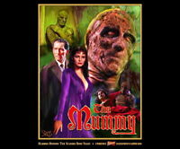 Hammer Films The Mummy Exclusive 18 X 24  Rare Collector's Poster Peter Cushing