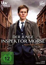 3 DVDs * DER JUNGE INSPEKTOR MORSE - PILOTFILM & STAFFEL 1  # NEU OVP &