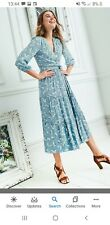 BNWT Boden Aurora Wrap Dress Size 12 R Duchess Of Cambridge Christmas Card