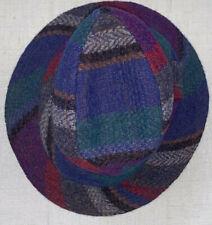 millar's vintage clifden connemara ireland wool tweed walking hat sz 7 1/4 59 m