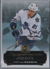 JAMES van RIEMSDYK 14-15 Upper Deck the Cup Signature Renditions AUTO